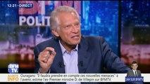 """Corée du Nord: """"L'accident, y compris l'accident nucléaire, est possible"""", dit Villepin"""