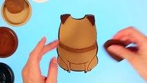 Тайная жизнь домашних животных, Мел. Лепим персонажей мультфильмов из Плей До.