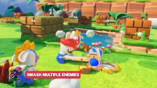 Mario Rabbids Kingdom Battle Rabbid Mario Character