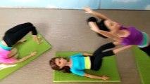 Clase clase clase clase parte rutina de ejercicio barbie Yoga 3 芭比 娃娃 瑜伽 课 barbie Barbie boneca yoga clase de yoga muñeca