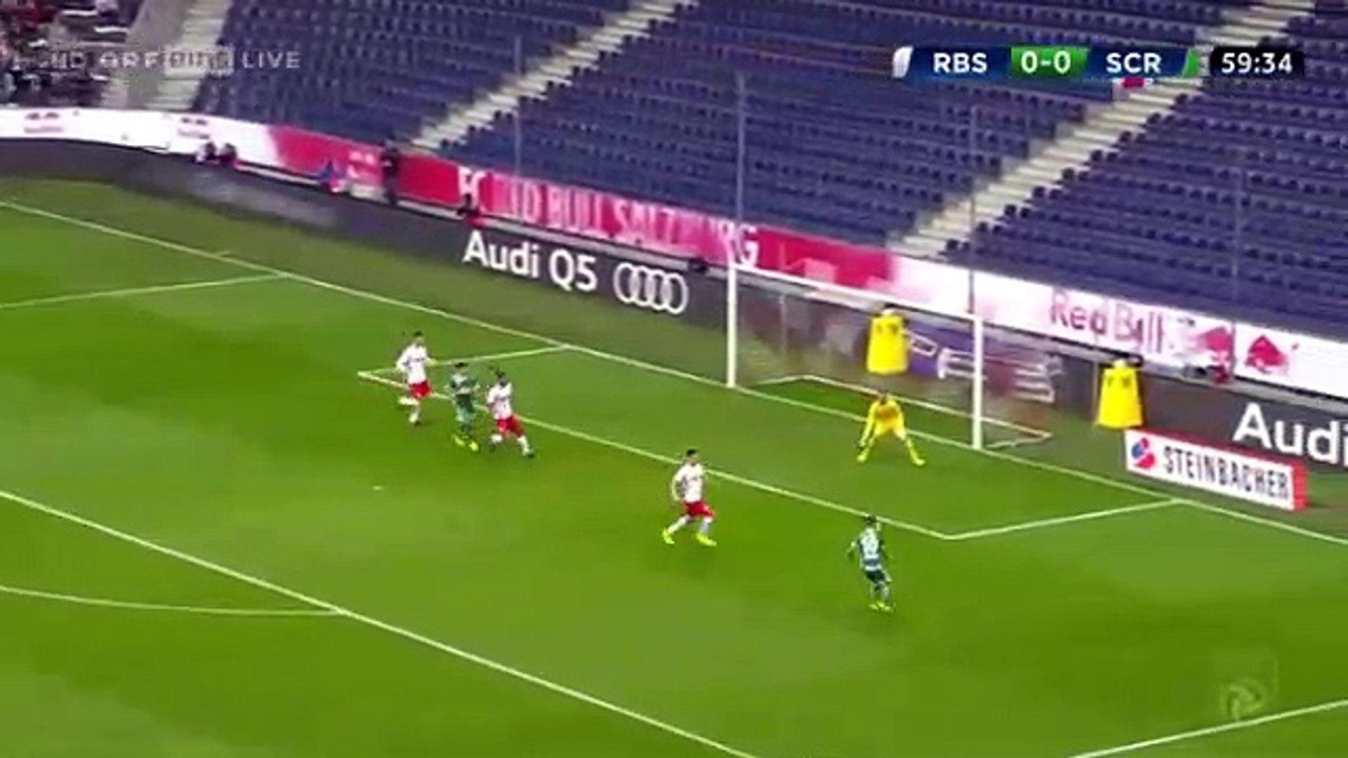 Dejan Ljubicic Goal Hd Rb Salzburg 0 1 Rapid Vienna 10 09 2017 Video Dailymotion