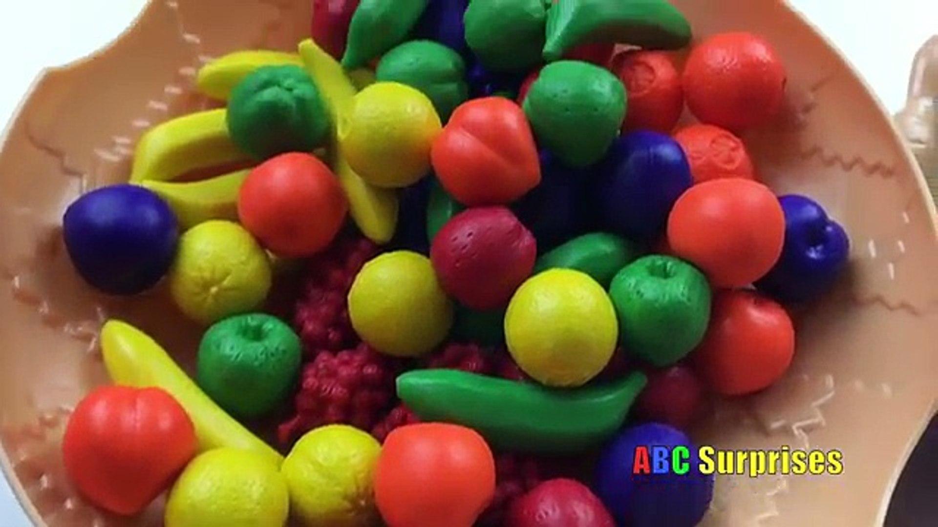 Аб От и количество съедает продукты для фрукты как Дети Дети ... Узнайте чисел домашнее животное аку