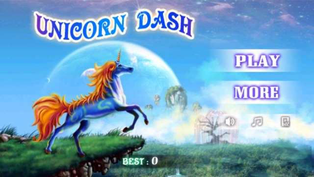 Unicorn Dash playing Game || Android Game