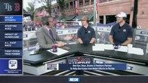 Red Sox Gameday Live: Torey Krug, Kevan Miller Talk Bruins Before Game Vs. Rays