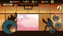 Shadow Fight 2 - Shogun fighting with max level and TITAN weapon
