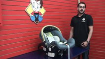 Chicco Keyfit - Cleaning Car Seat (Part 1 Taking Car seat apart)