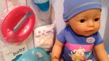 Bébé née garçon frère par par aide sa se rencontre nom déballage Nous Création zapf !!!