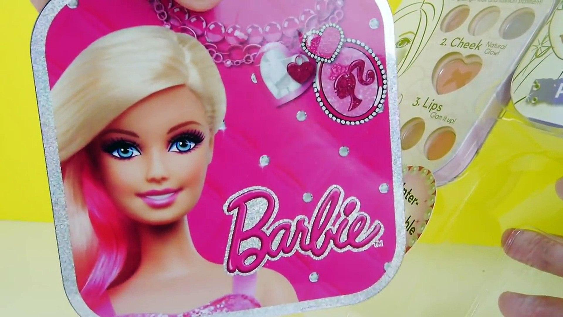 ألعاب بنات مكياج باربي حقيقي جميل جدا Barbie Makeup