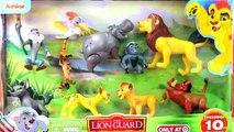 Brinquedo A Guarda do Leão em Português | George da Família Peppa Pig PRESO - TOY DISNEY LION GUARD