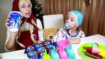 Bébé mal crème de la glace faire enfants pour et de clin doeil Masha Masha Medved bébé vidéo enfant en bas âge