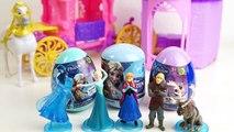 Anna e Elsa Frozen Peppa Pig Princesas Disney Ovos Surpresas Surprise Eggs Brinquedos. Em