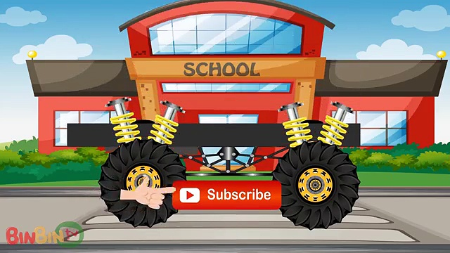 Scary Monster Trucks | Batman Truck | Superman Truck | Monster Trucks For Children |Superh