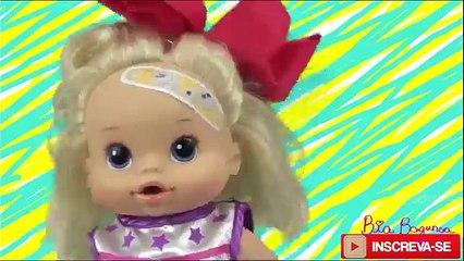 Vivo bebé la a instancia de parte El campamento mis muñecas machacadinho biabagunça 4