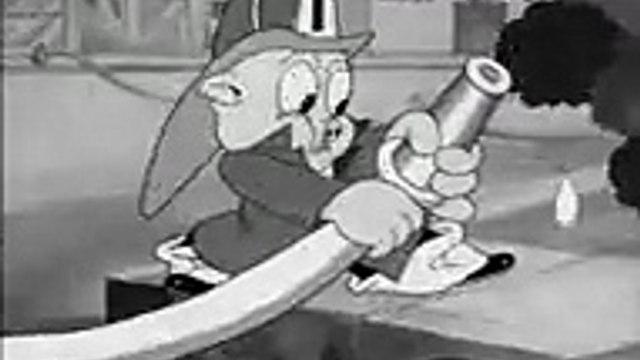 LOONEY TUNES -  Porky the Fireman ,cartoons animated anime Tv series 2018 movies action comedy Fullhd season