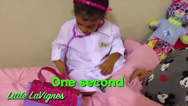 DOC MCSTUFFINS CHECK-UP TURNS INTO SHOT IN MOMMYS TUMMY! ~ Little LaVignes