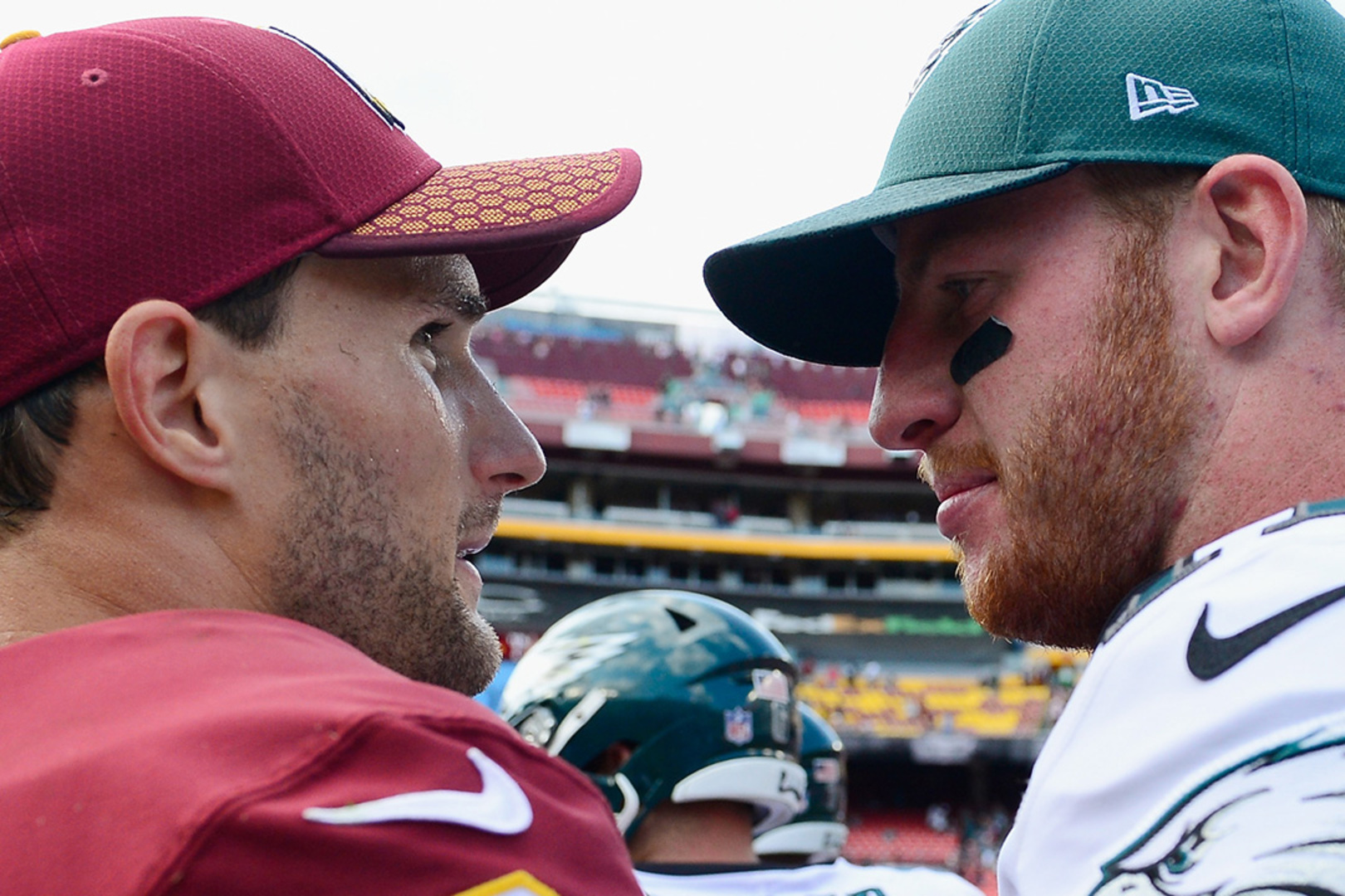 Redskins & Eagles Fans Throw Down