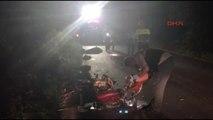 Sakarya - Karanlık Yolda Otomobilin Çarptığı Motosiklet Sürücüsü Öldü