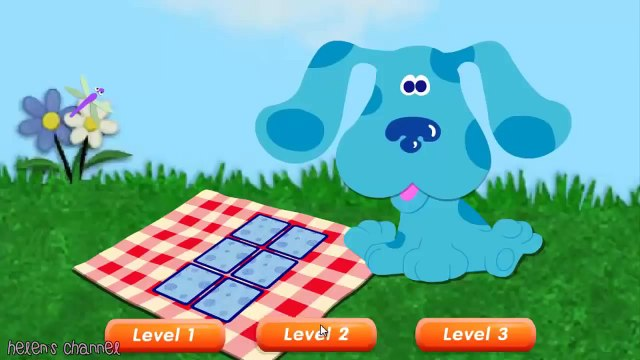 BLUES CLUES - Blues Matching Game - New Blues Clues Game - Online Game HD - Gameplay for Kids