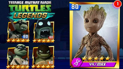 Teenage Mutant Ninja Turtles Legends - And The Groot