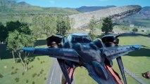 Final Fantasy 15 Noctis Flying Car Official Clip