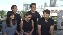 "Sam Heughan & Tobias Menzies Talk ""Outlander"" Battles"