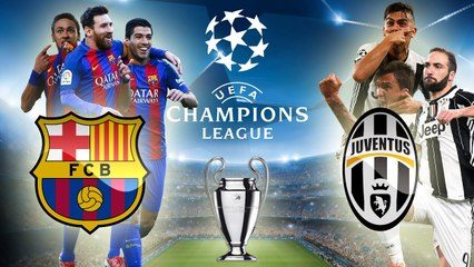"UEFA Champions League ""Barcelona vs Juventus"" On Date 13/9/2017"