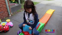 Step 2 Roller Coaster in the Driveway Thomas Ride On Lightning McQueen Ride On Peppa Pig ToysReview