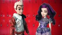 Descendants Dolls Mals Revenge with Disney Descendants Mal and Ben with Audrey and Evie