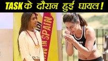 Khatron Ke Khiladi 8: Hina Khan and Nia Sharma got INJURED during the Task | FilmiBeat
