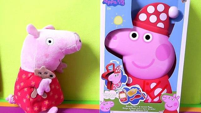Peppa Pig Estuche Hora de Dormir Peppas Bedtime Case - Juguetes de Peppa Pig