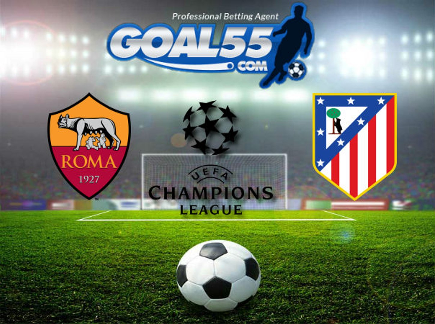 Champions League - Group Stage [ROMA vs ATLÉTICO MADRID] FOX Sports