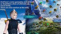 Mobius Final Fantasy - Ultimate Job Cloud Strife (FFVII) Review and Gameplay