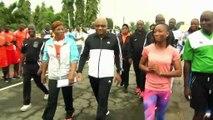 Médaillée aux Mondiaux de Londres, une athlète entraîne l'armée ivoirienne