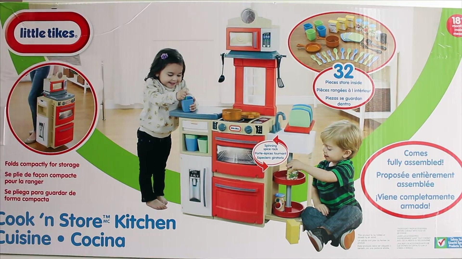 Little Tikes Cook n Store Kitchen - Kitchen Toys for Children - Little Tikes Kitchen