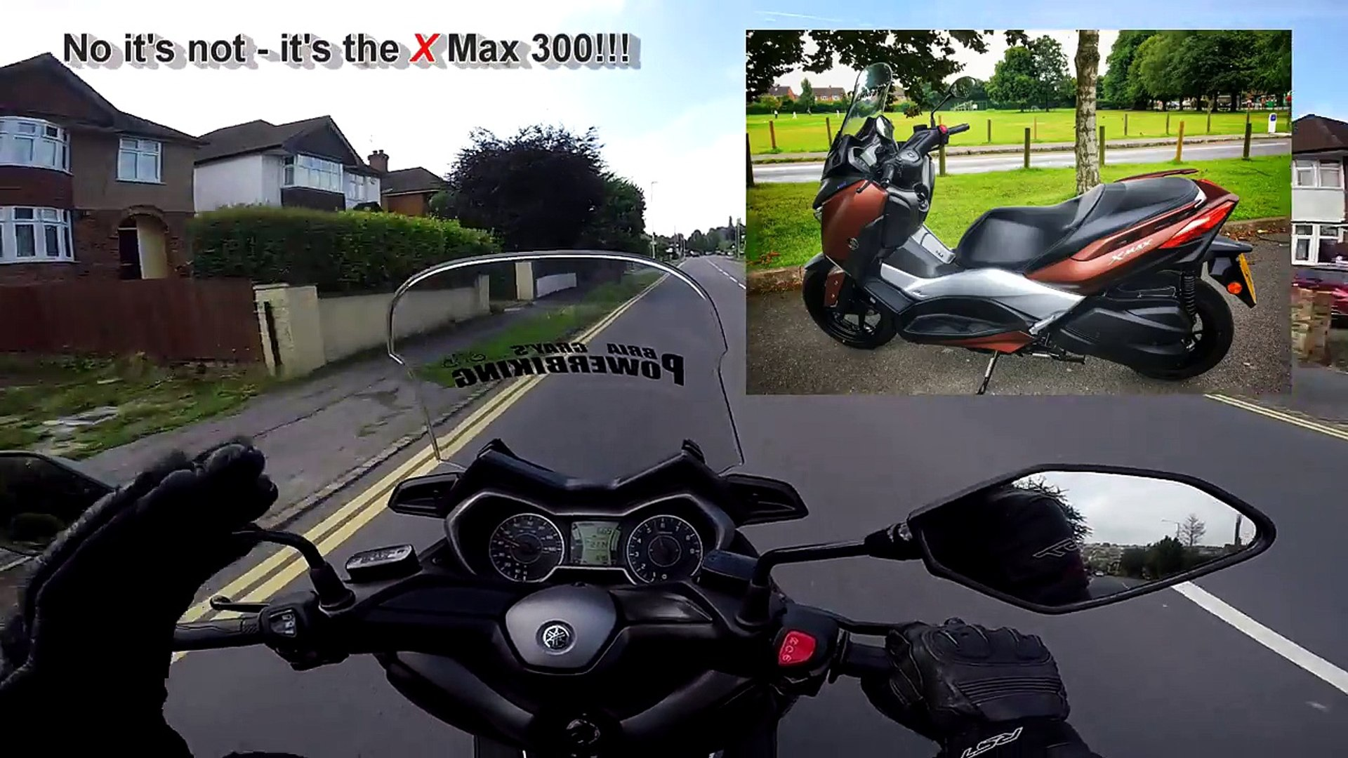I pop my scooter cherry! - 2017 Yamaha X-Max 300 Review