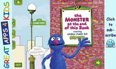 The Monster at the End of this Book | Sesame Street Storybook App for Kids Starring Grover