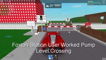 ROBLOX | Level Crossings in Foxton and Area *JANUARY 2017*