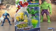Marvel Super Hero Mashers Micro Figurines Hulk Loki Toys for Kids Jouet Review Juguetes
