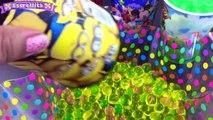 Mickey Mouse Vasos Sorpresa Orbeez SpiderMan Minions Bolsitas Sorpresas y huevos Sorpresa Español