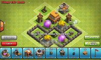 Clash of Clans Town Hall 4 Defense [CoC TH4 Trophy Base Layout Defense Strategy]