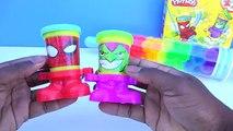 Argile couleur Comment Apprendre faire faire la modélisation broche jouer arc en ciel rouleau à Il Doh créer popsicle