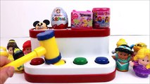 Microwave Baby Disney Princess Surprise Toys Learn Colors Finger Family Nursery Rhymes Sup
