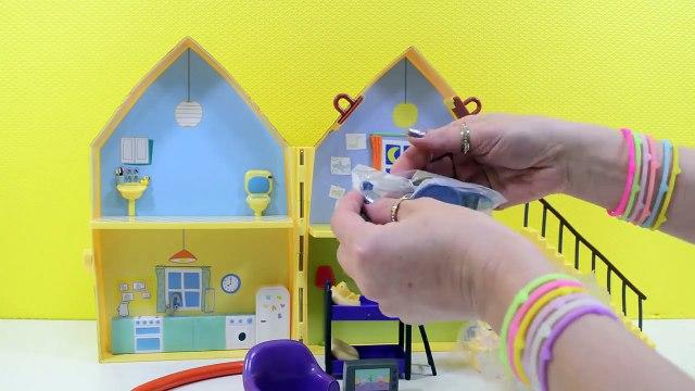 Peppa Pig em Português - a Casa da Família Pig - Brinquedos da Peppa - Turma kids