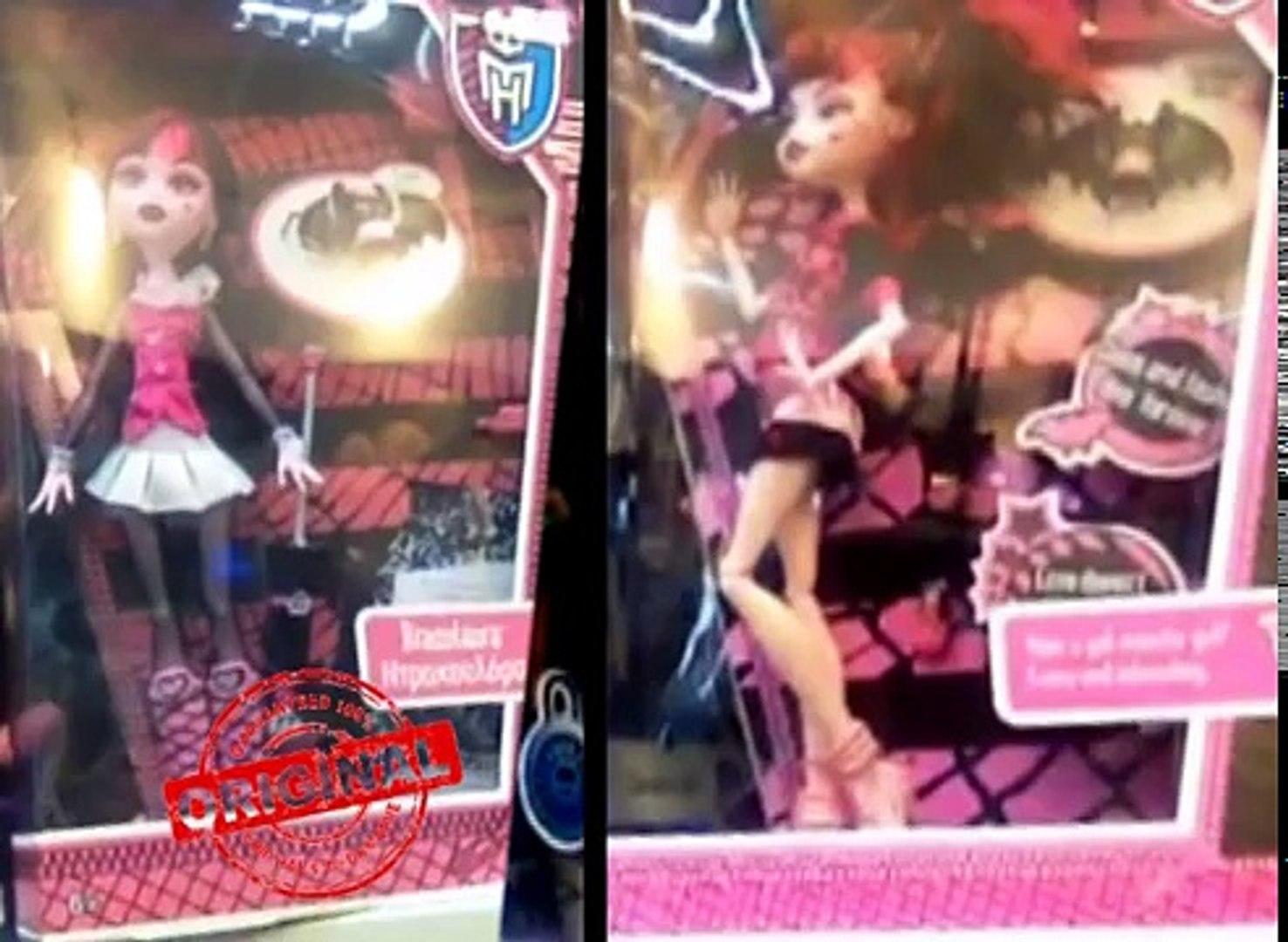 У меня ШОК! Подделки Monster High стоят на одной полке с фирменными куклами Mattel + Конкурс ★MGM★