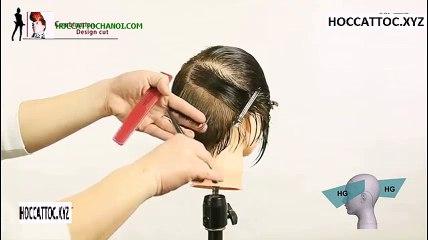 Video Dạy Cắt Tóc, Combination Design Cut Salon Work (Phần 3)