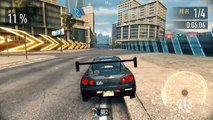Need For Speed No Limits: Nissan Skyline R34 GTR Showcase, Customisation and Race