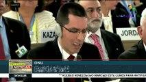 Canciller venezolano exige cesar agresión de ONU y EEUU contra su país