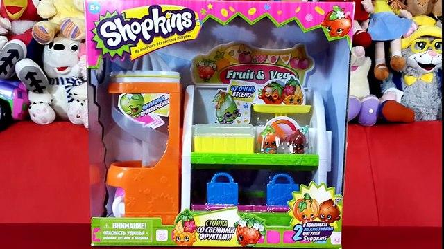 Овощная лавка Шопкинс / Shopkins Fruit and Veg Stand обзор на русском