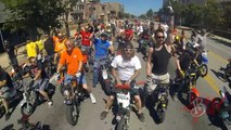 PIT BIKE Stunts DUDE DATE new Street Ride Louisville, KY CRF50 Tricks 50 STUNT Mini Moto Wheelies