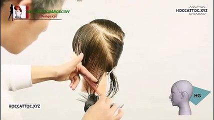 Video Dạy Cắt Tóc, Combination Design Cut Salon Work (Phần 4)
